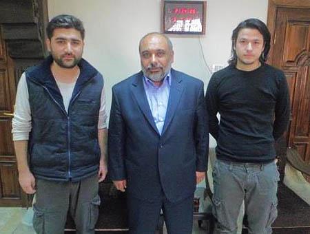 Periodistas ozkose coskun siria