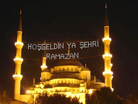 Ramadan mezquita azul