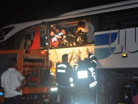 Accidente autobus afyon