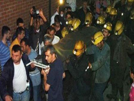 Accidente mina turquia