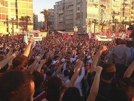 Manifestacion taksim turquia