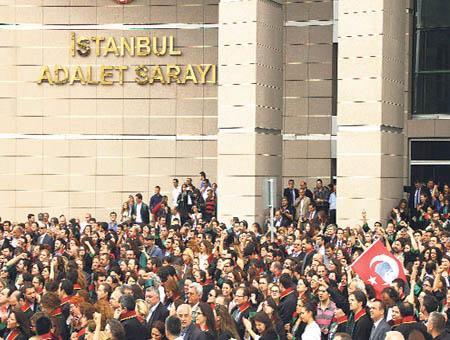 Protesta abogados estambul