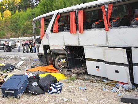 Accidente autobus turquia