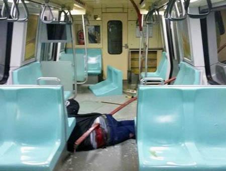 Accidente metro estambul