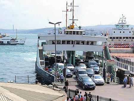 Estambul ferry sirkeci