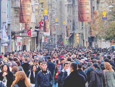 Estambul istiklal turcos sociedad
