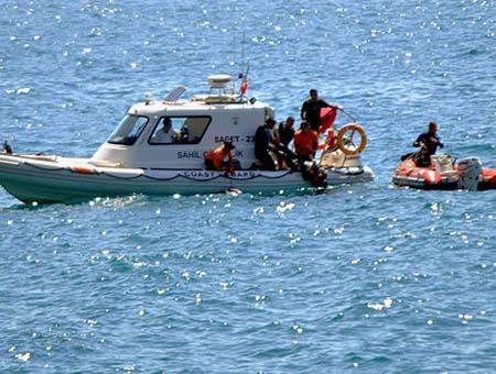Guardacostas turcos inmigrantes