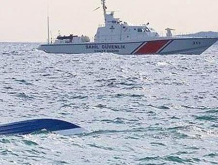 Guardacostas turcos naufragio
