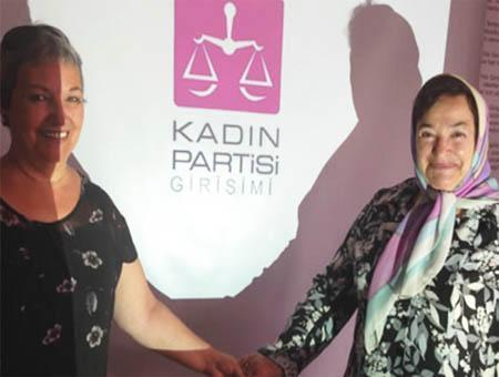 Kadin partisi partido mujer