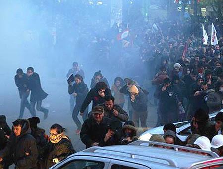 Protestas ankara kizilay