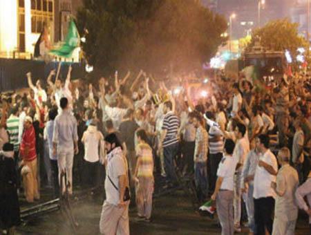 Protestas israel estambul