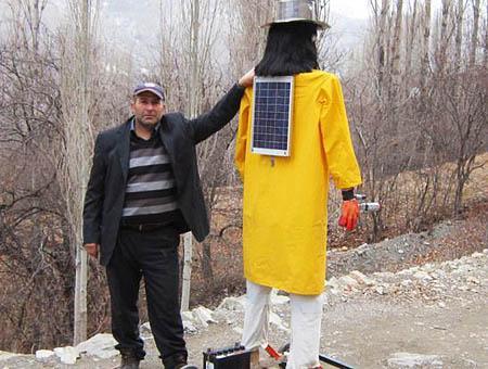 Robot osos turquia