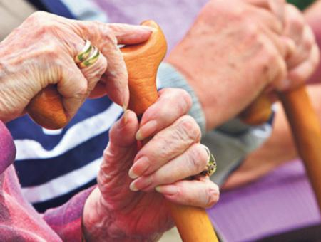 Ancianos vejez