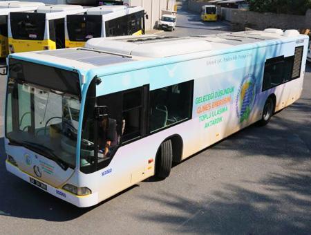 Autobus energia solar