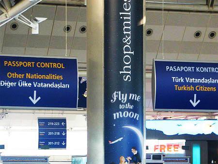 Control pasaportes aeropuerto