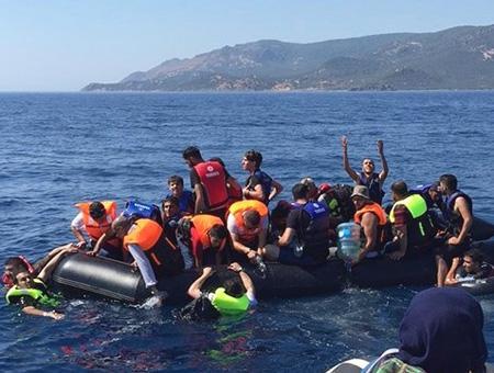 Egeo refugiados rescate