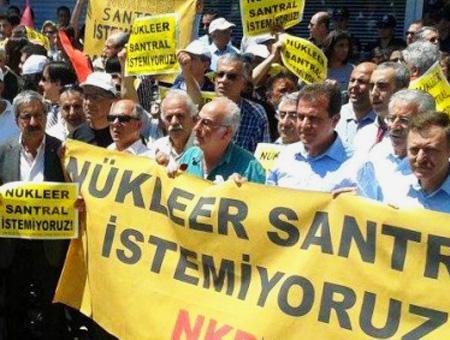 Energia nuclear protestas