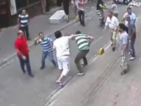Estambul pelea turista irlandes