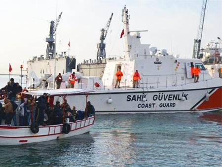 Guardacostas turcos rescate