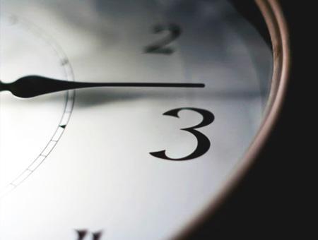Hora reloj horario