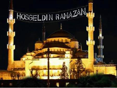 Mezquita ramadan estambul