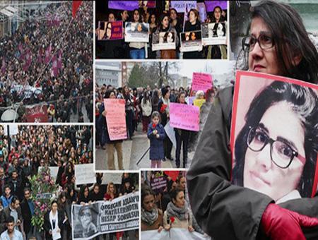 Ozgecan aslan asesinato protestas