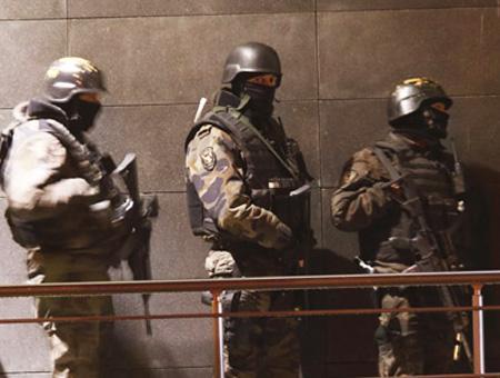 Policia turca secuestro