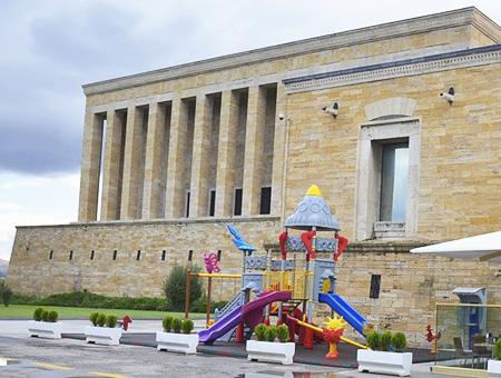 Ankara parque infantil anitkabir