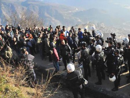 Artvin protestas disturbios