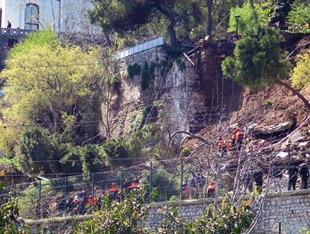 Estambul accidente gulhane park