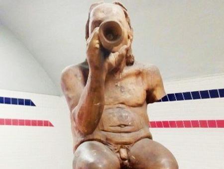 Izmir estatua metro
