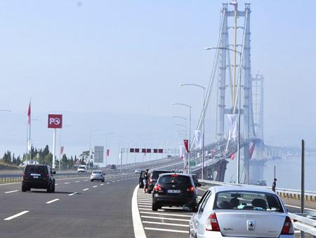 Izmit puente osmangazi conductores