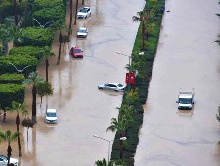 Mersin inundaciones