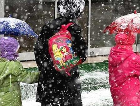 Nieve colegio alumnos