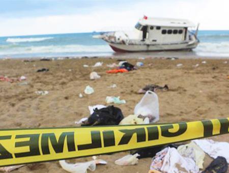 Playa naufragio egeo