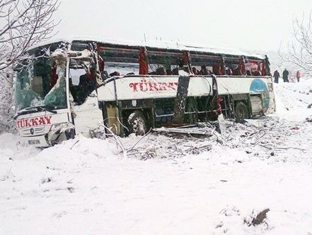 Sinop accidente autobus nevada