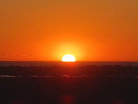Sol amanecer atardecer