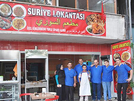 Turquia restaurante sirio
