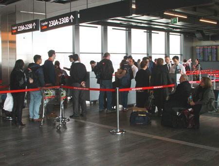 Aeropuerto ataturk pasajeros