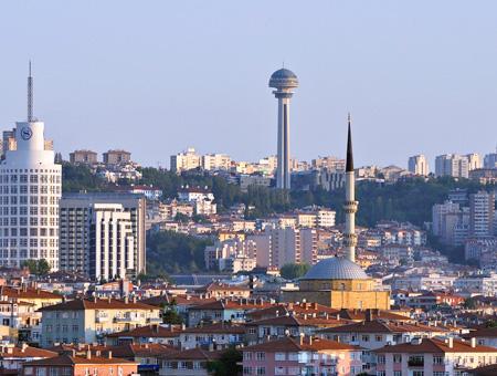 Ankara cankaya distrito