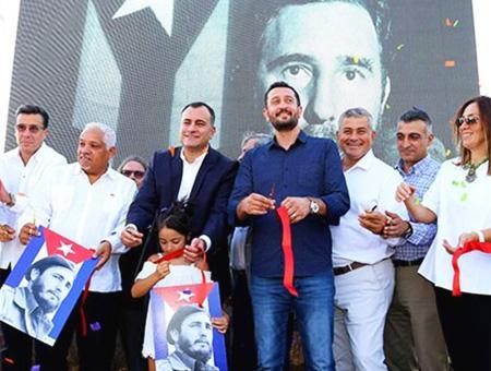 Inaugurado en Ankara el Parque de Fidel Castro