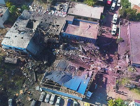 Bursa explosion fabrica