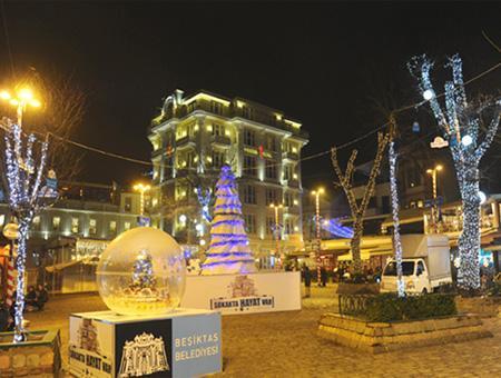 Estambul besiktas adornos navidad