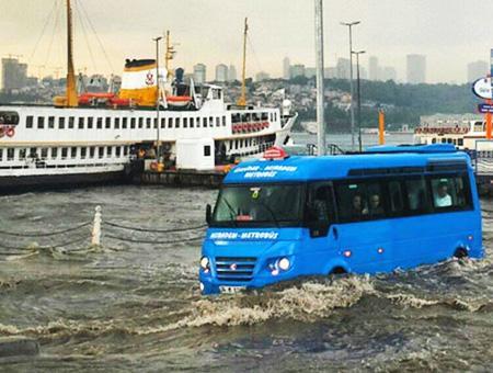 Estambul inundaciones lluvias torrenciales