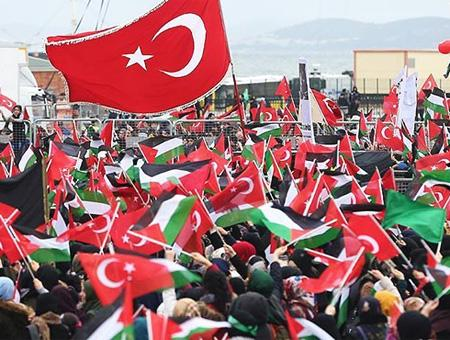 Estambul manifestacion palestina