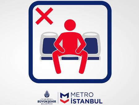 Estambul metro manspreading