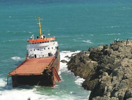 Estambul naufragio carguero