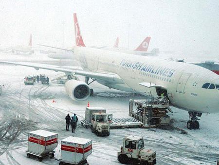 Estambul nevadas aeropuerto