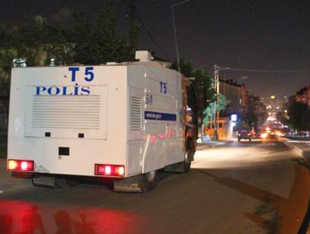 Estambul patrulla policia disturbios