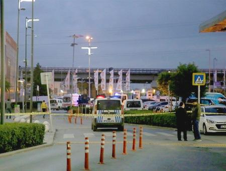 Estambul policia centro comercial